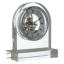 Buy London Clock Crystal Dome Skeleton Clock Online at johnlewis.com