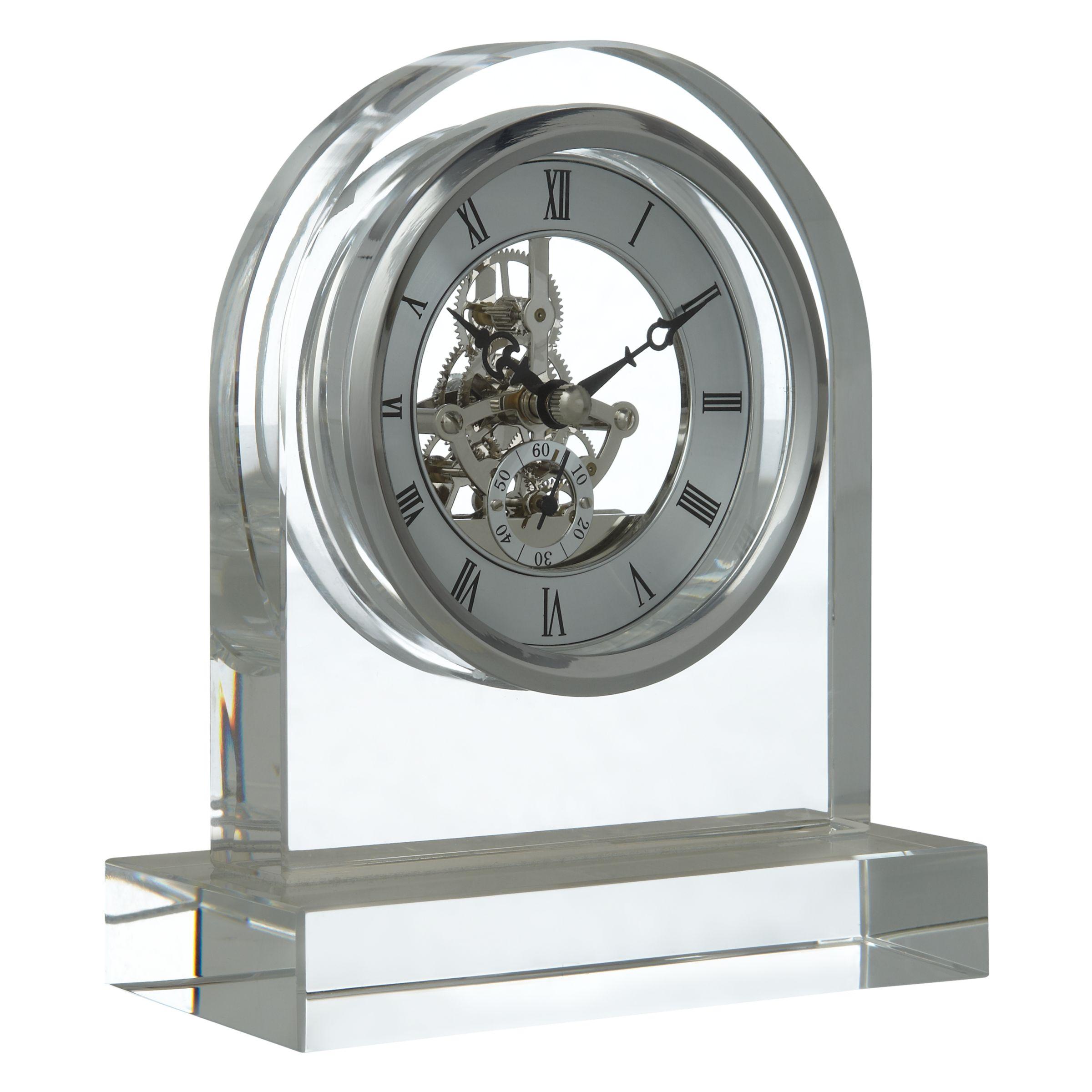 London Clock Company London Clock Company Crystal Dome Skeleton Clock