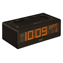 Buy Oregon Scientific Easy Plus Talk O Clock, Black Online at johnlewis.com