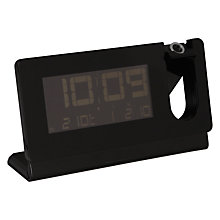 Buy Oregon Scientific Slim Projection Clock, Black Online at johnlewis.com