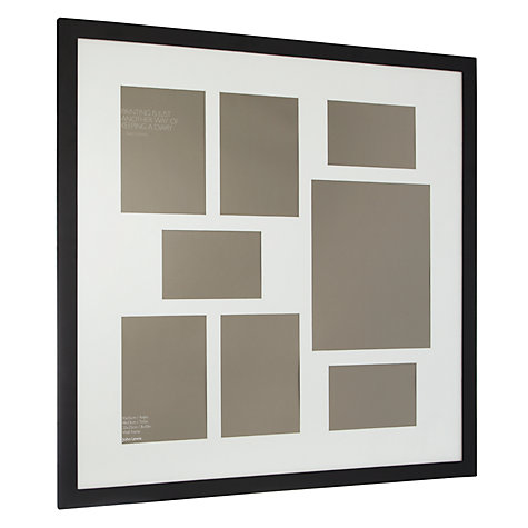 Buy John Lewis Multi-aperture Square Frame, 8 Photo Online at johnlewis.com