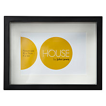 "Buy House by John Lewis Box Frame, 4 x 6"" (10 x 15cm) Online at johnlewis.com"