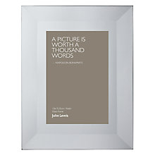 "Buy John Lewis Smoked Glass Photo Frames, 4 x 6"" (10 x 15cm) Online at johnlewis.com"