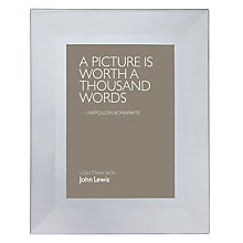 "Buy John Lewis Photo Frame, Smoked, 5 x 7"" (13 x 18cm) Online at johnlewis.com"