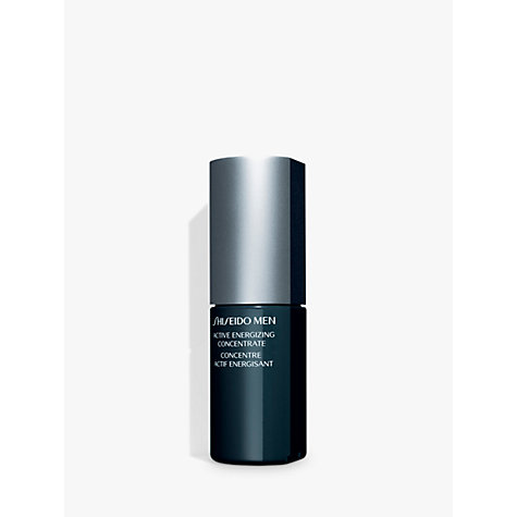 Buy Shiseido MEN Active Energizing Concentrate, 50ml Online at johnlewis.com