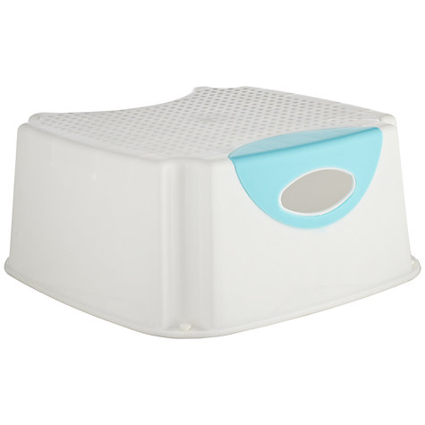Buy John Lewis Step, Pearl White/Aqua Online at johnlewis.com