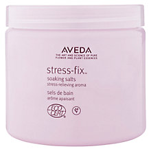 Buy AVEDA Stress-Fix Soaking Salts, 454g Online at johnlewis.com