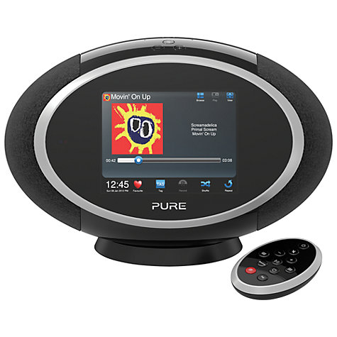 Buy Pure Sensia 200D Connect DAB Internet Radio Audio System Online at johnlewis.com