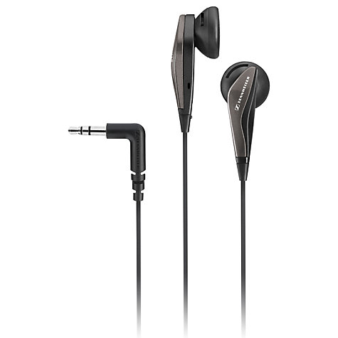 Buy Sennheiser MX375 In-Ear Headphones, Black Online at johnlewis.com