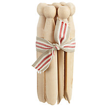 Buy East of India Dolly Pegs, Bundle of 7 Online at johnlewis.com