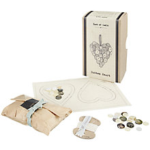 Buy East of India Button Heart Kit Online at johnlewis.com