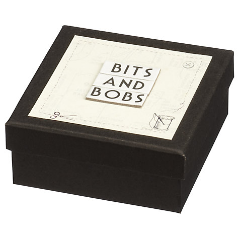 Buy East of India Bits and Bobs Box, Black Online at johnlewis.com