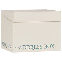 Buy East of India Address Box Online at johnlewis.com
