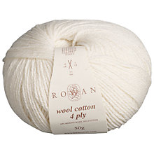 Buy Rowan Wool Cotton 4 Ply Yarn Online at johnlewis.com