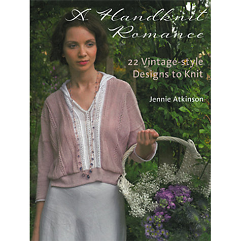 Buy Rowan A Handknit Romance Knitting Patterns Book Online at johnlewis.com