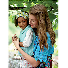 Buy Rowan By Amy Butler Meadow Knitting & Crochet Patterns Brochure Online at johnlewis.com