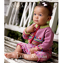 Buy Rowan Little Rowan Knitting Patterns Brochure Online at johnlewis.com