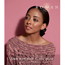 Buy Rowan Summerspun Collection Knitting Patterns Brochure Online at johnlewis.com