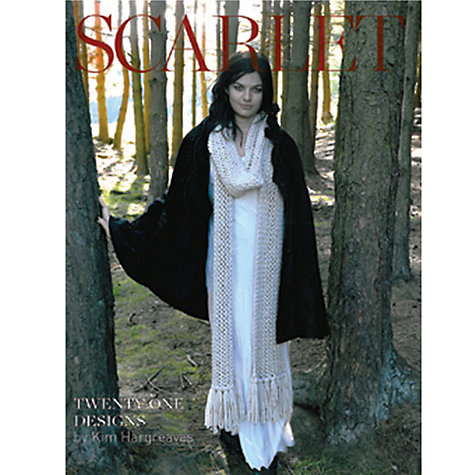Buy Rowan Scarlet Knitting & Crochet Patterns Book Online at johnlewis.com