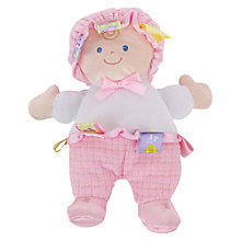 Buy Taggies Baby Doll, Pink Online at johnlewis.com