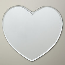 Buy John Lewis Heart Mirror, 18 x 17cm Online at johnlewis.com