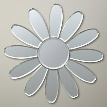 Buy John Lewis Decorative Flower Mirror, Dia.30cm Online at johnlewis.com