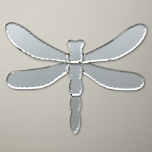 Buy John Lewis Dragonfly Decorative Mirror, 28.5 x 20.5cm Online at johnlewis.com