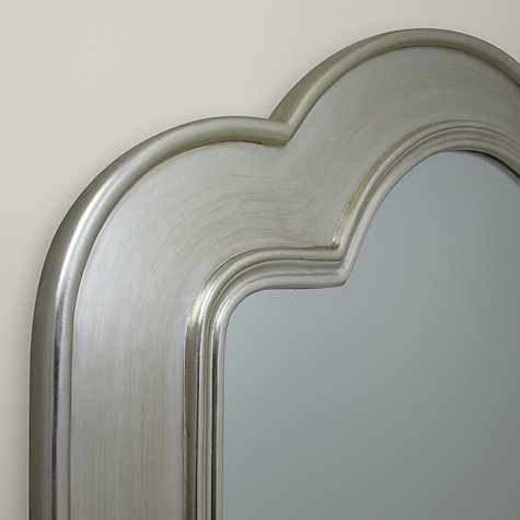 Buy Brissi Verona Mirror, Silver, Small, 100 x 120cm Online at johnlewis.com