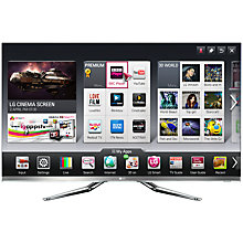 Buy LG 55LM860V LED HD 1080p 3D Smart TV, 55 Inch with Freeview HD and 4x 3D Glasses Online at johnlewis.com