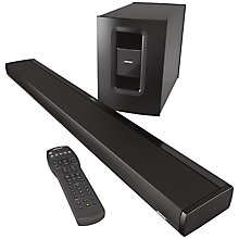 Buy Bose® CineMate 1 SR Soundbar Home Cinema Speaker System Online at johnlewis.com