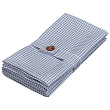Buy John Lewis Gingham Napkins, Set of 4 Online at johnlewis.com