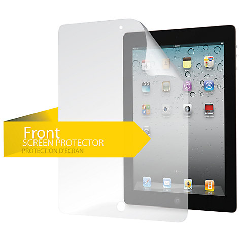 Buy Griffin TotalGuard Level 1 Screen Protector for 2nd, 3rd & 4th Generation iPad Online at johnlewis.com