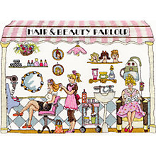Buy Bothy Threads Beauty Parlour Cross Stitch Kit Online at johnlewis.com