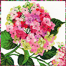 Buy Bothy Threads Hydrangea Cross Stitch Kit Online at johnlewis.com