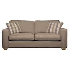 Buy John Lewis Walton Large Sofa, Biscuit Online at johnlewis.com