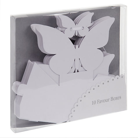 Buy Talking Tables Something In The Air Favour Boxes, Pack of 10 Online at johnlewis.com