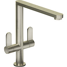 Buy Abode Linear Monobloc Tap, Brushed Nickel Online at johnlewis.com