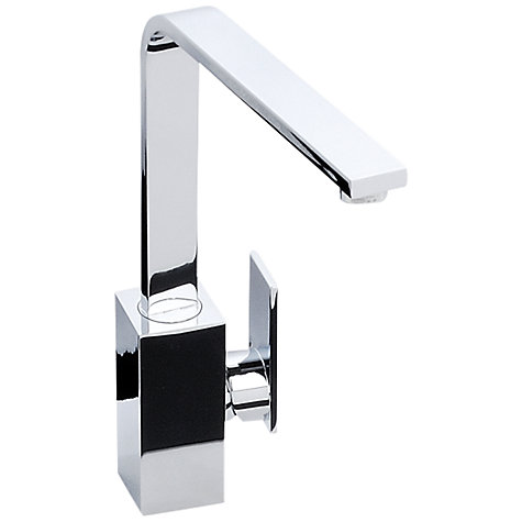 Buy Abode New Media Single Lever Tap, Chrome Online at johnlewis.com