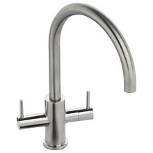 Buy Abode Novar Monobloc Tap, Stainless Steel Online at johnlewis.com