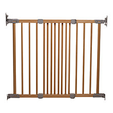 Buy BabyDan Wooden Super Flexi Fit Safety Gate Online at johnlewis.com