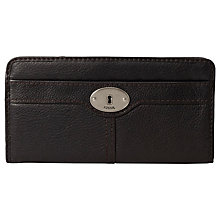 Buy Fossil Maddox Zip Clutch Purse Online at johnlewis.com