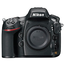 "Buy Nikon D800 Digital SLR Camera with 70-300mm Lens, HD 1080p, 36.3MP, 3.2"" LCD Screen, Black Online at johnlewis.com"
