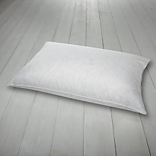 Buy John Lewis Duck Down Standard Pillow, Medium Support Online at johnlewis.com