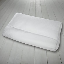 Buy Fine Bedding Company Neck Soother Specialist Pillow, Medium/Firm Support Online at johnlewis.com