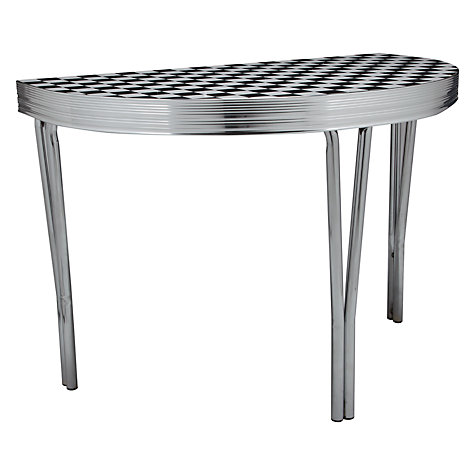 Buy Cola Red 2 Seater Half Moon Tables Online at johnlewis.com