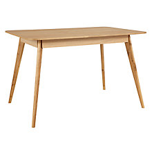 Buy House by John Lewis Lily Rectangular 6 Seater Dining Table Online at johnlewis.com
