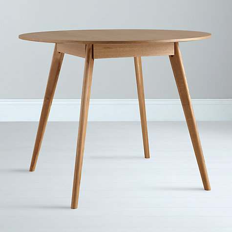 Buy House by John Lewis Lily Round 4 Seater Dining Table Online at johnlewis.com