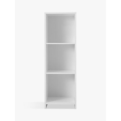 Buy House by John Lewis Oxford 3 x 1 Unit, White Online at johnlewis.com