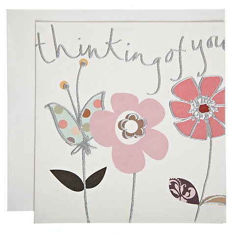Buy Caroline Gardner Thinking of You Card Online at johnlewis.com