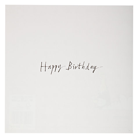 Buy Woodmansterne Lady In Bubble Bath Birthday Card Online at johnlewis.com